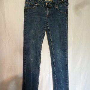 Paris Blues Distressed Skinny Stretch Jeans sz5